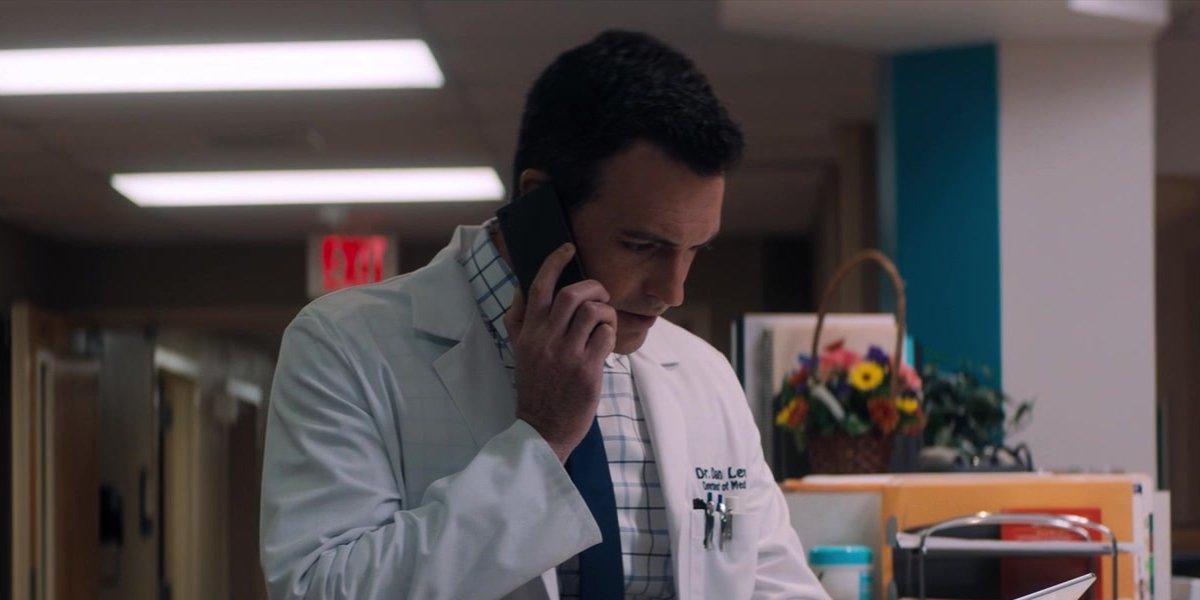 Reid Scott as Dr. Dan Lewis in Venom