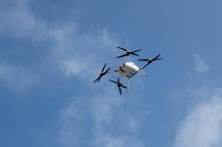 Samsung is delivering phones by drones