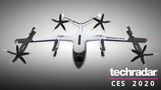 Ubers och Hyundais flygande taxikoncept