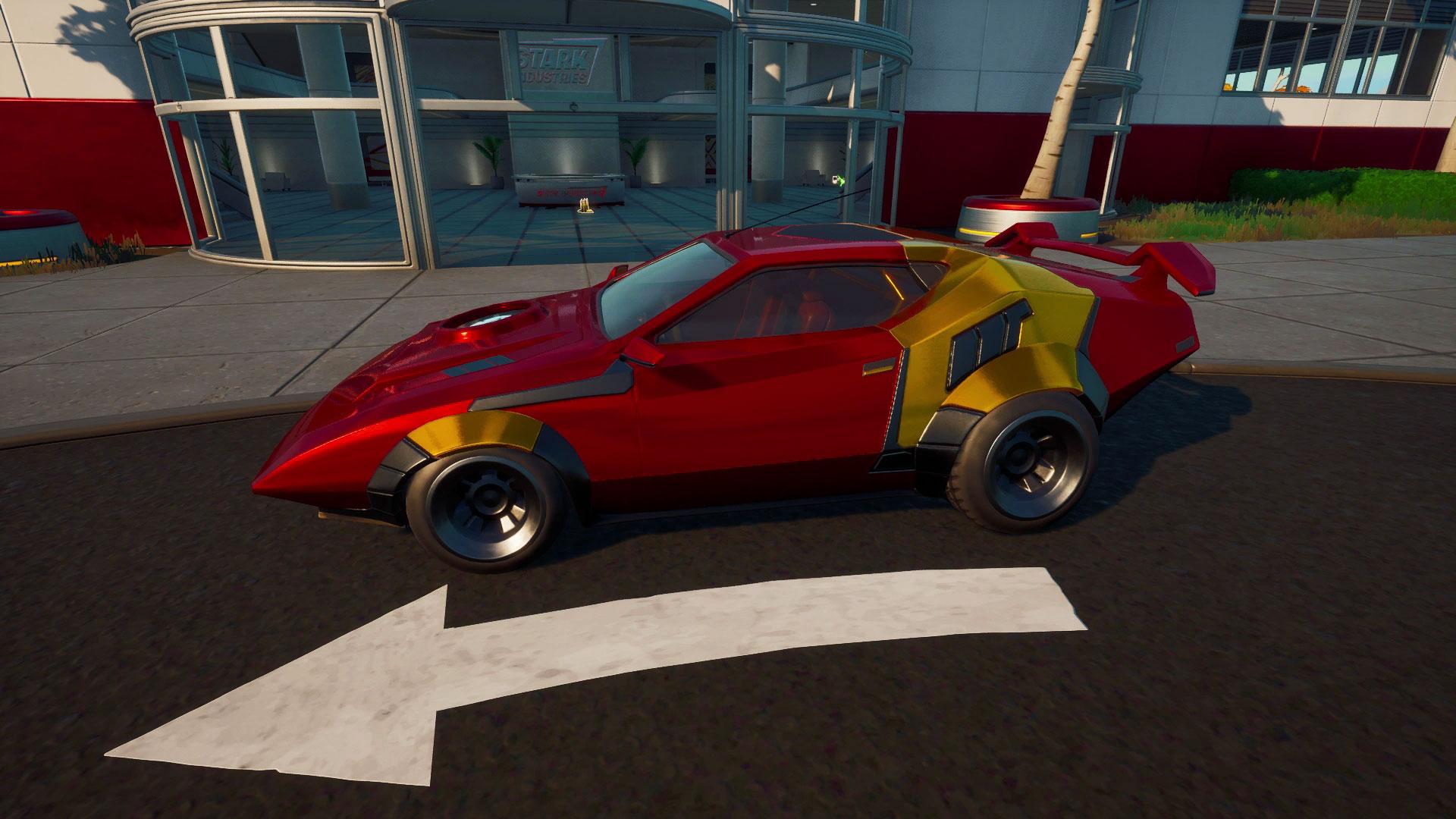 Fortnite Whiplash Locations How To Reach 88 On The Speedometer In A Whiplash As Tony Stark Gamesradar