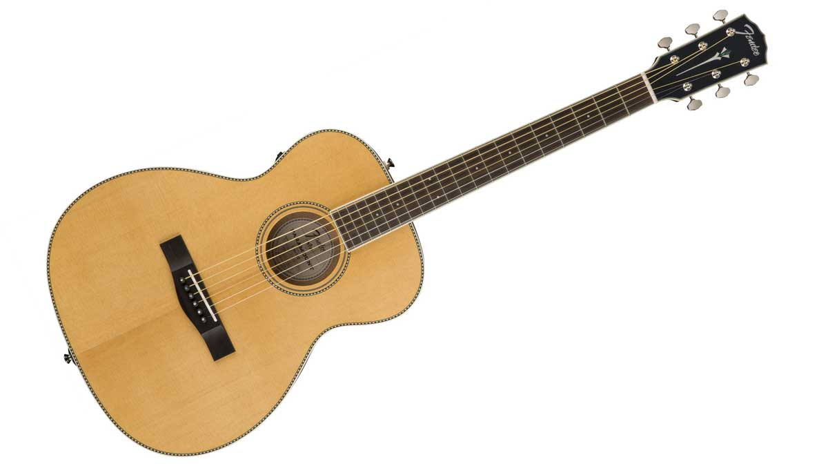 US Black Friday guitar deal: Save $330 on Fender's PM-TE travel acoustic