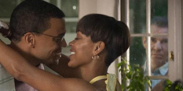 What Meagan Good Loved About Acting Opposite Dennis Quaid In The Intruder