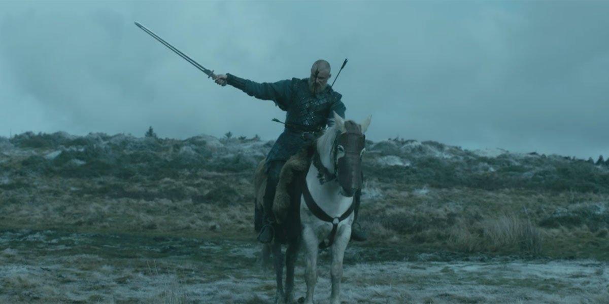 Bjorn death scene on Vikings Season 6