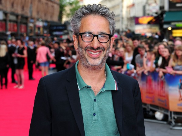 David Baddiel attending the premiere of new film The Inbetweeners 2 at the Vue Cinema in London.