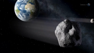 Asteroid 2012 DA14.