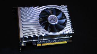 Intel DG1 SDV graphics card