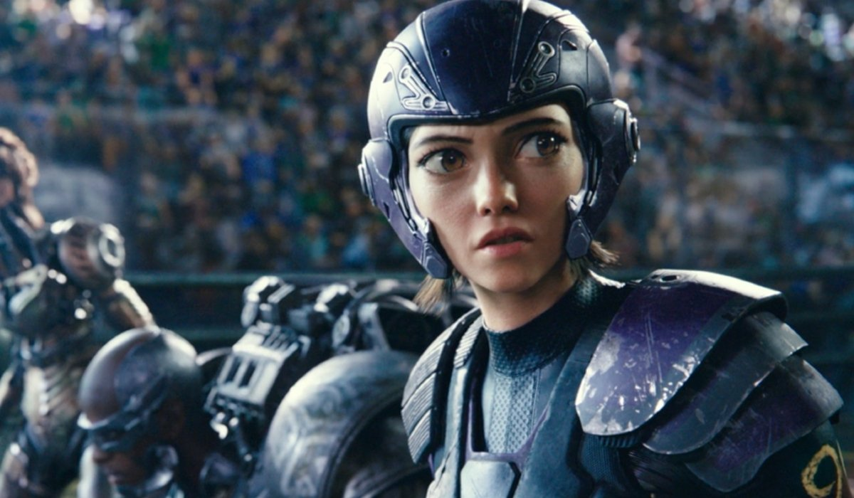 Alita: Battle Angel Alita in the Motorball starting lineup