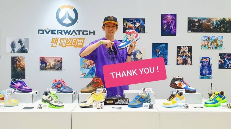 81eceac1c66 Check out these custom-made Overwatch Nikes – GameMax