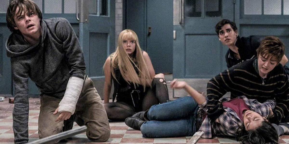 Charlie Heaton, Anya-Taylor Joy, Henry Zaga, Maisie Williams and Blu Hunt in The New Mutants