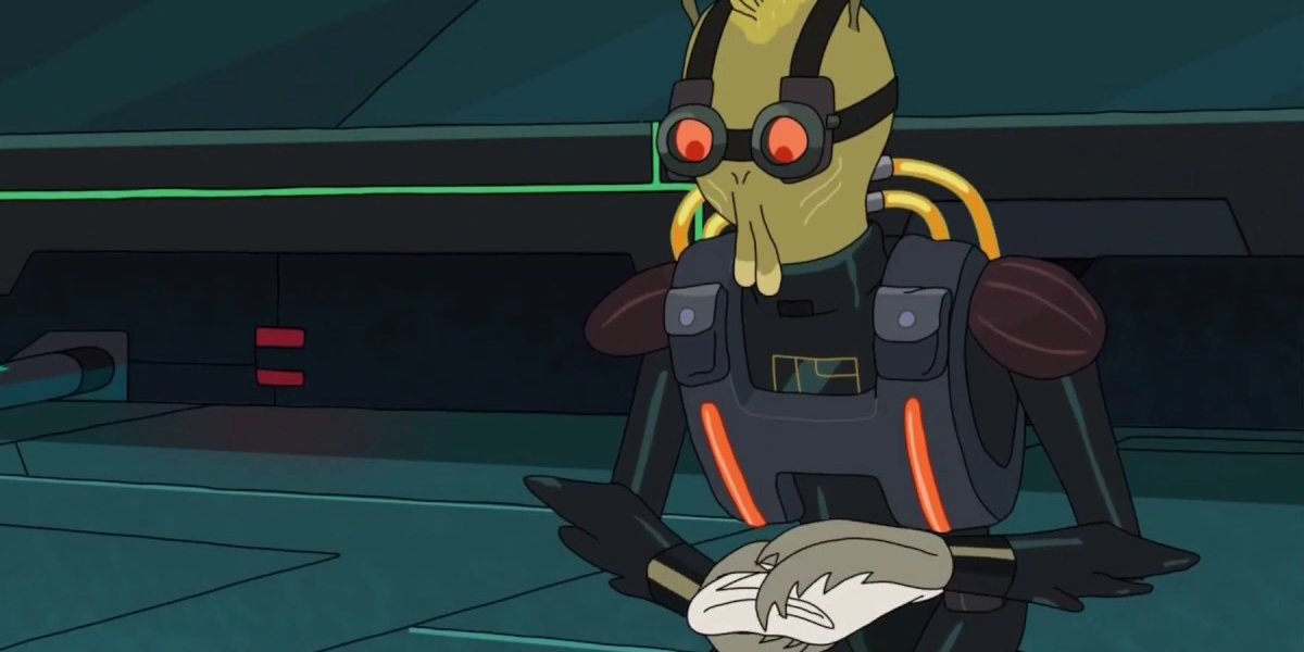 Rick and Morty Krombopulos Michael