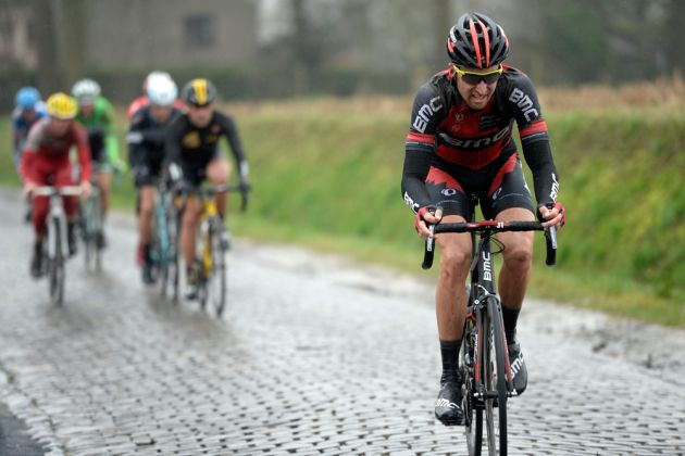 Taylor Phinney was active in the race as BMC continue to show well this season under their new management structure