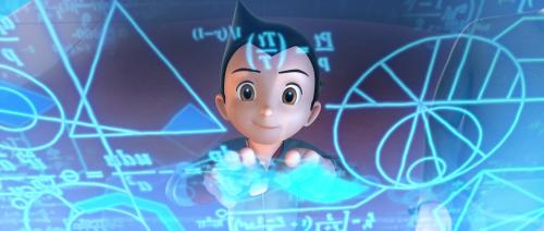 Astro Boy - Brilliant schoolboy Toby  (Freddie Highmore) lives on as Astro Boy in this lively animated comedy adventure