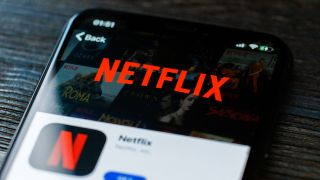 Netflix app on mobile