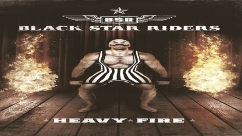 Cover art for Black Star Riders Heavy Fire