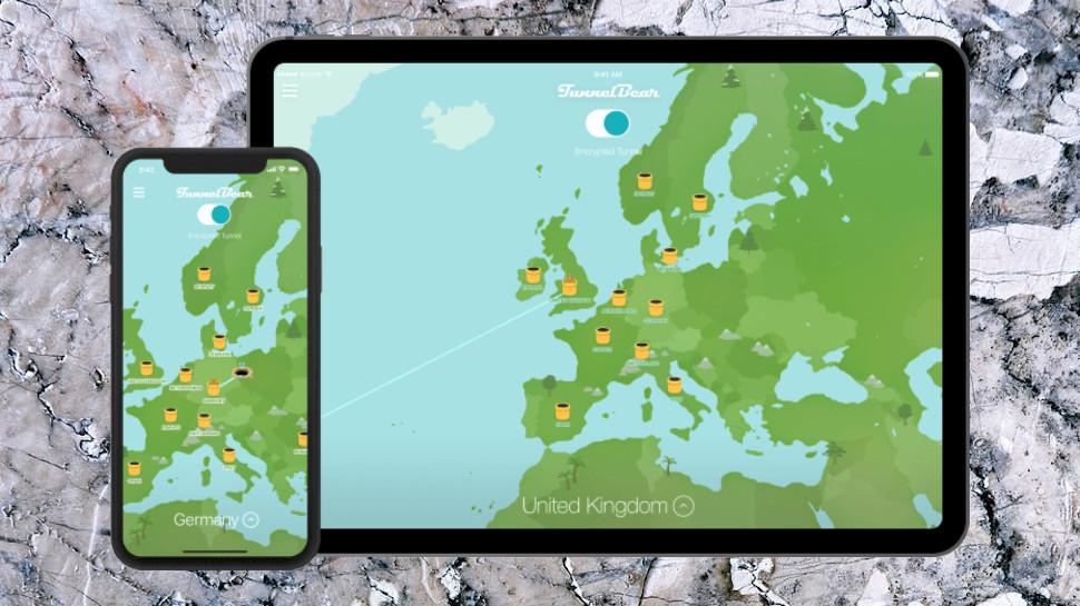 TunnelBear iOS Apps