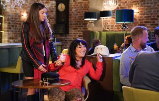 EastEnders spoilers: Stacey is worried when Kat goes off the rails