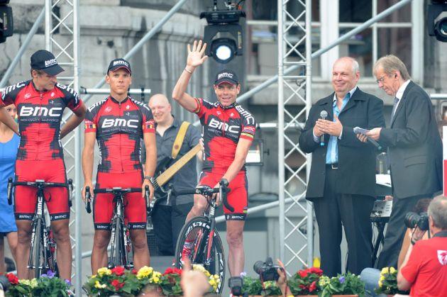 Cadel Evans, Tour de France 2012 presentation