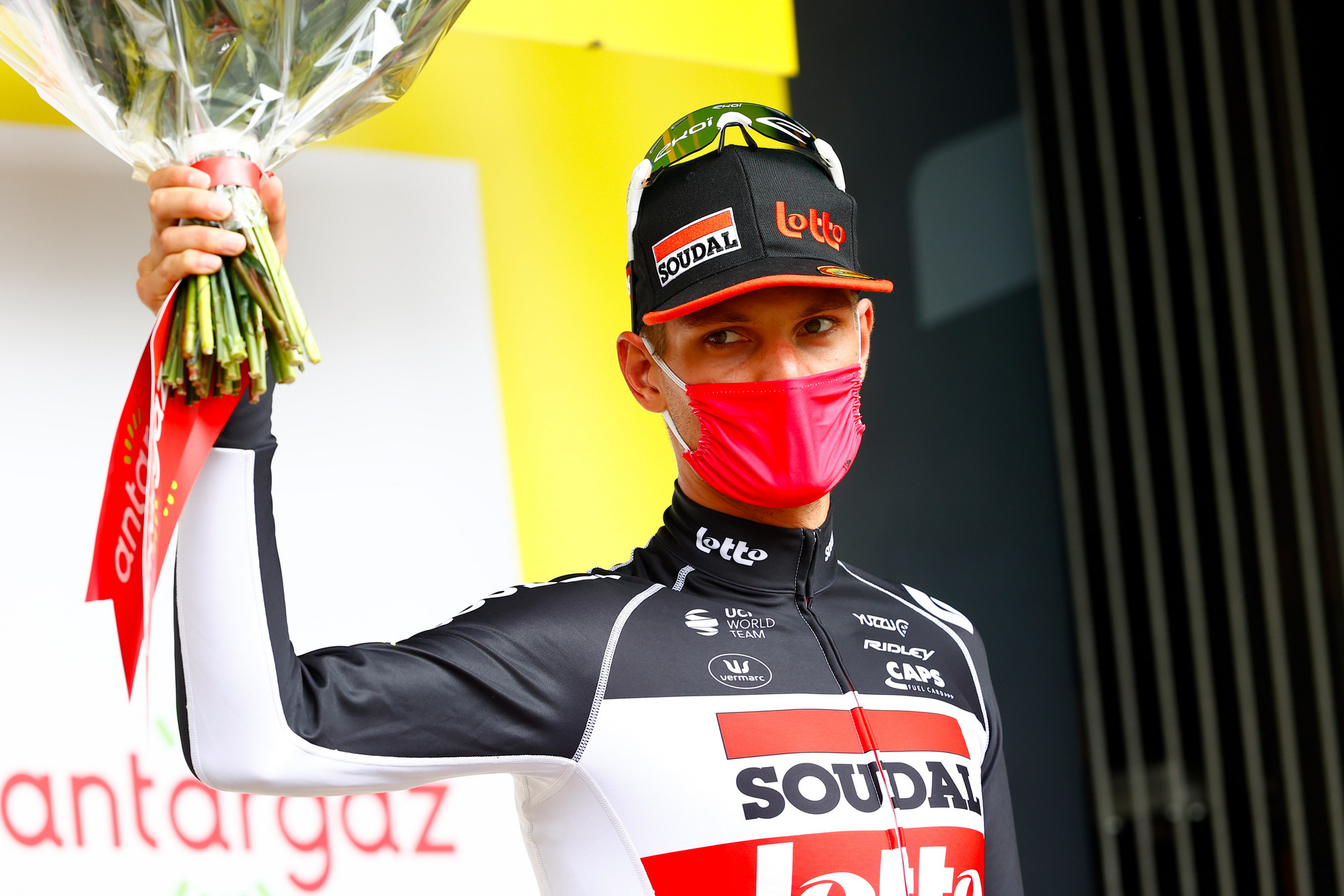 Tour de France 2021 108th Edition 4th stage Redon Fougeres 1504 km 29062021 Brent Van Moer BEL Lotto Soudal photo Luca BettiniBettiniPhoto2021