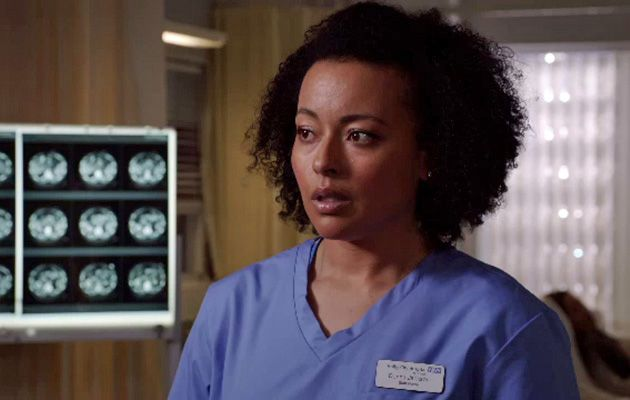 Jaye Jacobs plays Donna Jackson in Holby City