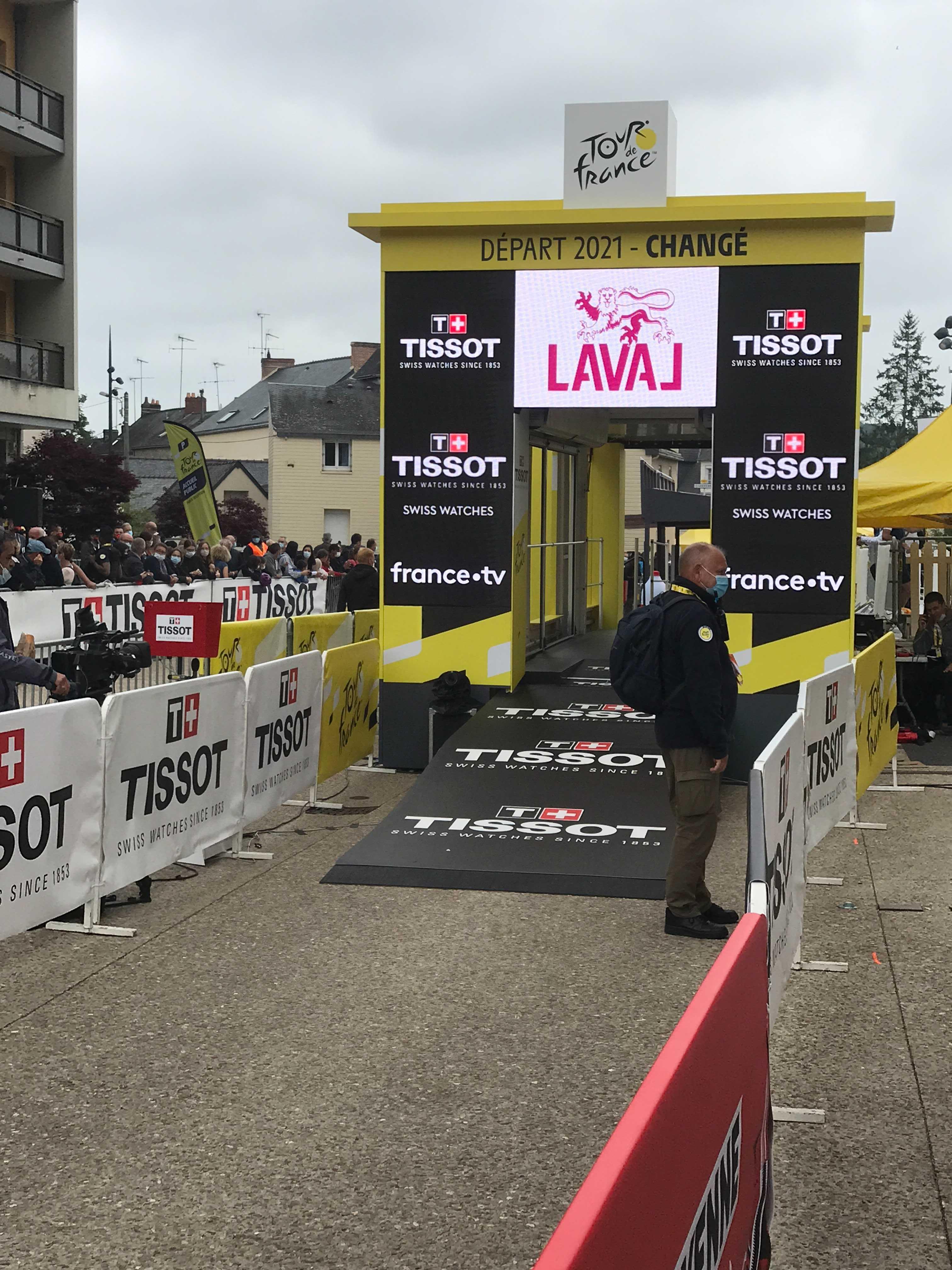 Tour de France stage five start