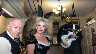 Robert Fripp and Toyah Wilcox cover The Number of the Beast