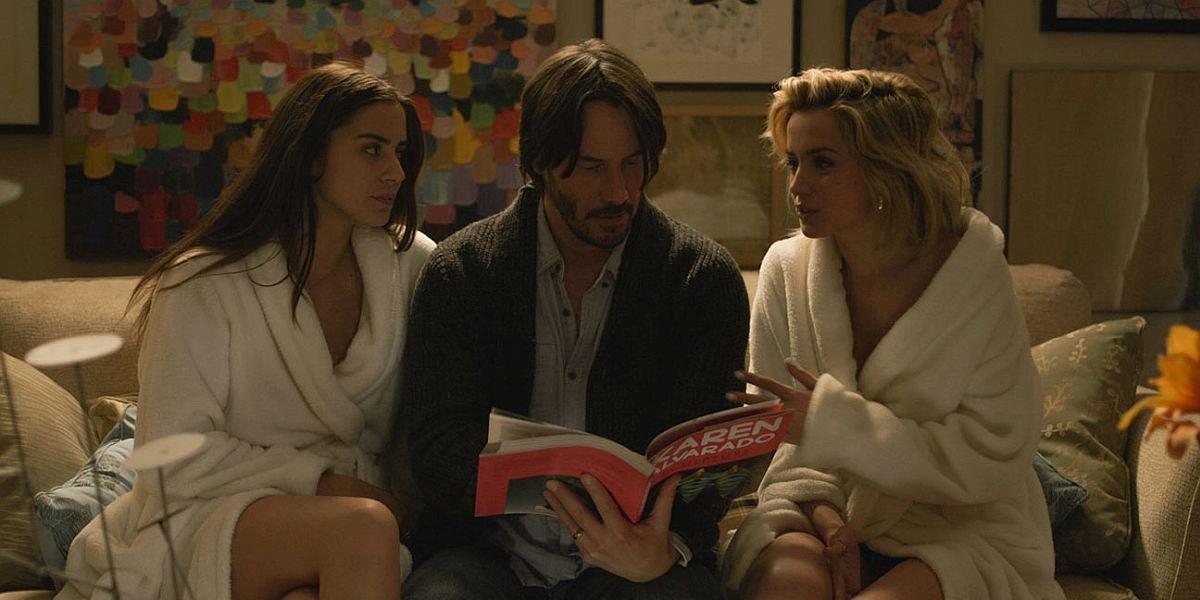 Keanu Reeves and Ana De Armas in Knock Knock