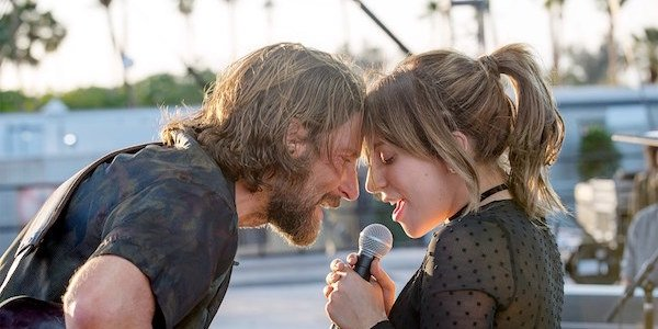 Bradley Cooper and Gaga in A Star Is Born