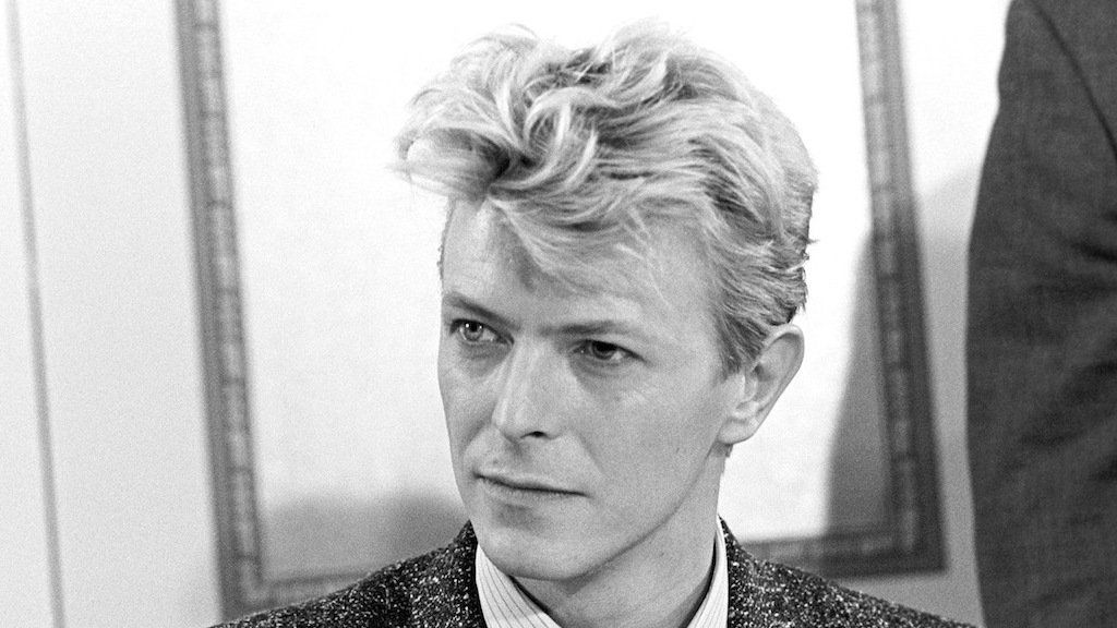 Image result for photos of Bowie mid eighties