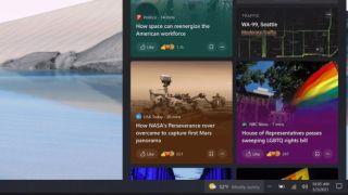Windows 10 oppdatering av oppgavelinjen