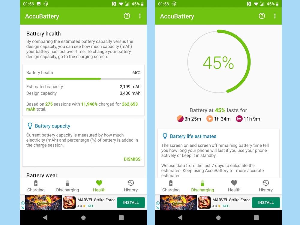 best battery apps: Accubattery