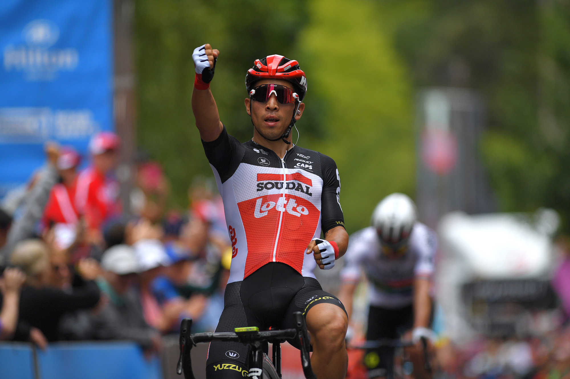 Caleb Ewan destroys rivals to take stage two of Tour Down Under 2020