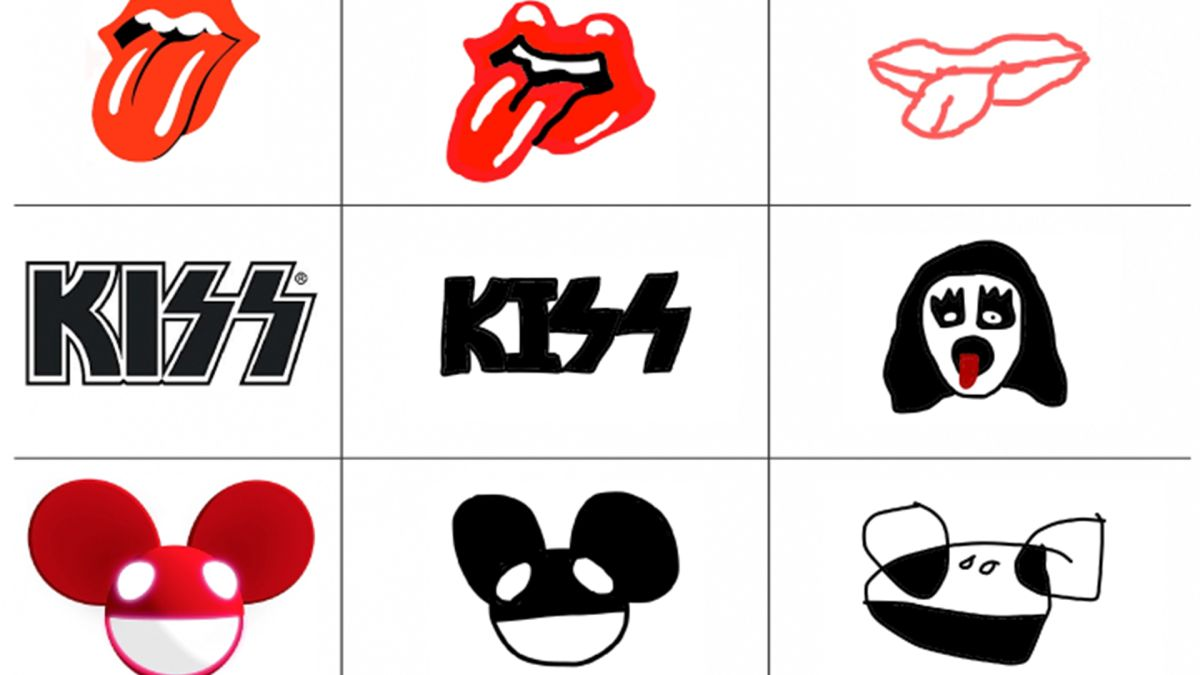 These music logos drawn from memory are hilariously bad