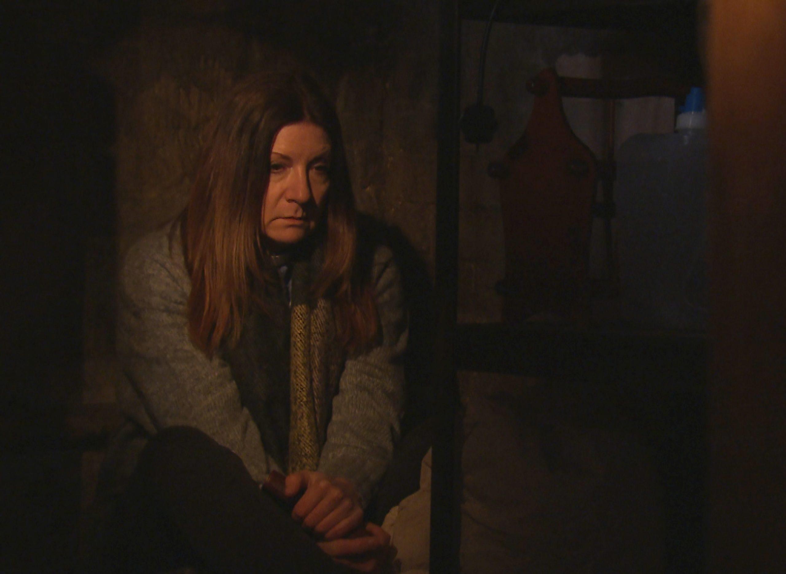 Harriet está en un exilio autoimpuesto en Emmerdale