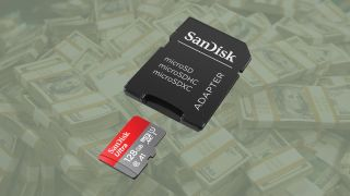 SanDisk Ultra 128GB half price! MicroSD card + adapter just £16.42