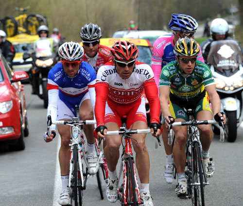 Stephane Auge, Fleche Wallonne 2010