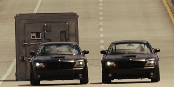 Fast Five Vault scene