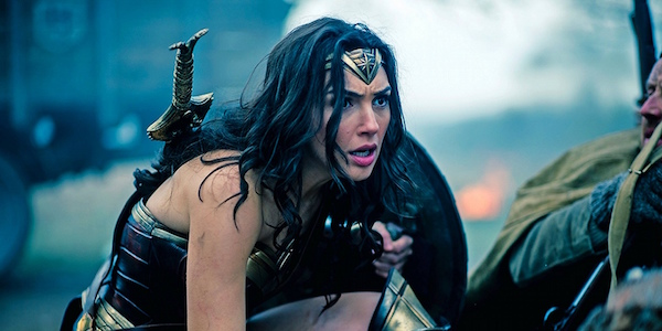 Wonder Woman in the trenches