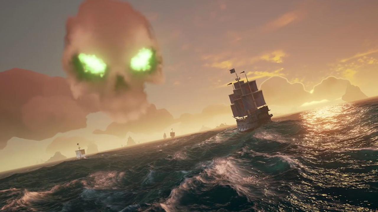 Image result for sea of thieves skull cloud