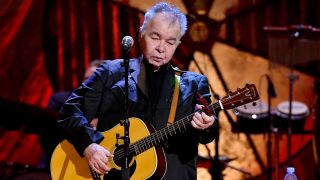 John Prine performs onstage during the 2018 Americana Music Honors and Awards at Ryman Auditorium on September 12, 2018 in Nashville, Tennessee