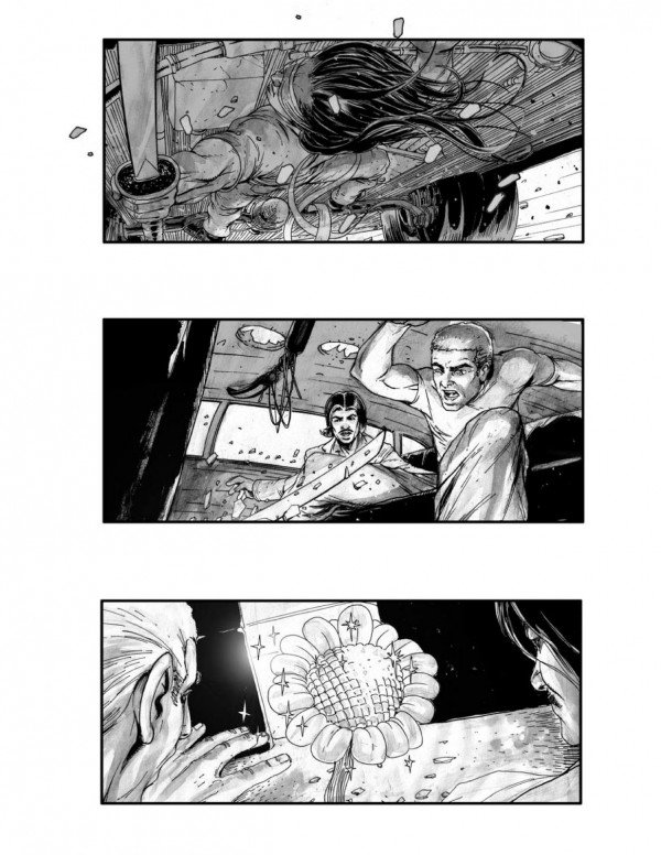 Neuromancer Storyboards Reveal Movie That Might Have Been #5301