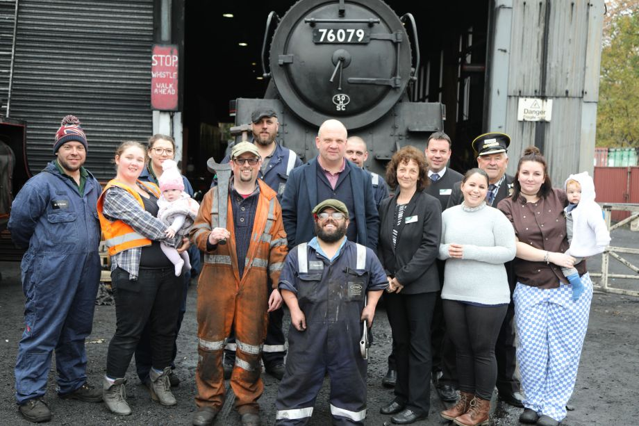 Staff at The Yorkshire Steam Railway: All Aboard