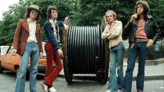 A photograph of Van der Graaf Generator in the 70s
