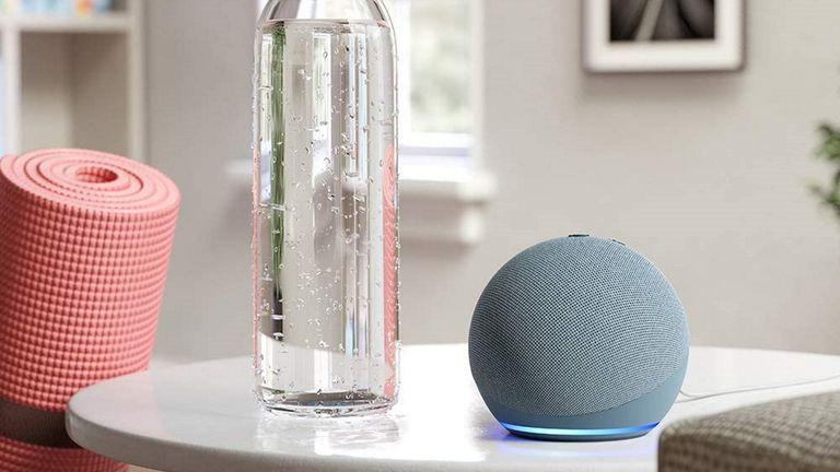 best smart speaker: Amazon Echo Dot 4th Gen