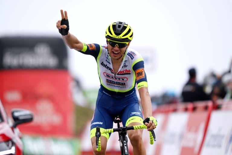 Rein Taaramae wins stage three of the Vuelta