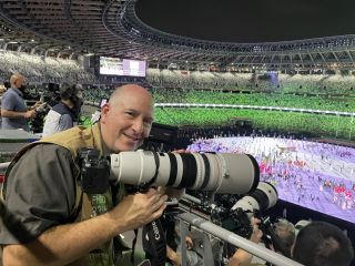 Olympic photographer reveals what's in his kit bag for Tokyo 2020