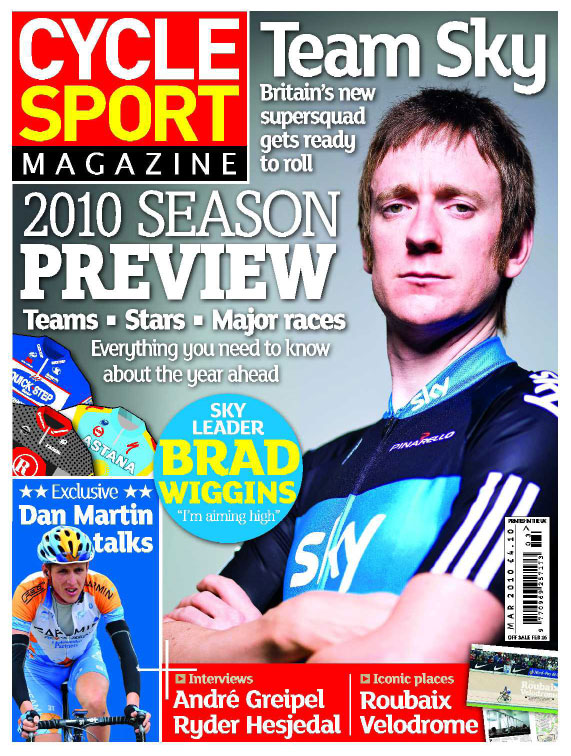 Cycle Sport March 2010 cover