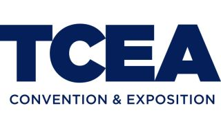 TCEA logo - blue on white background