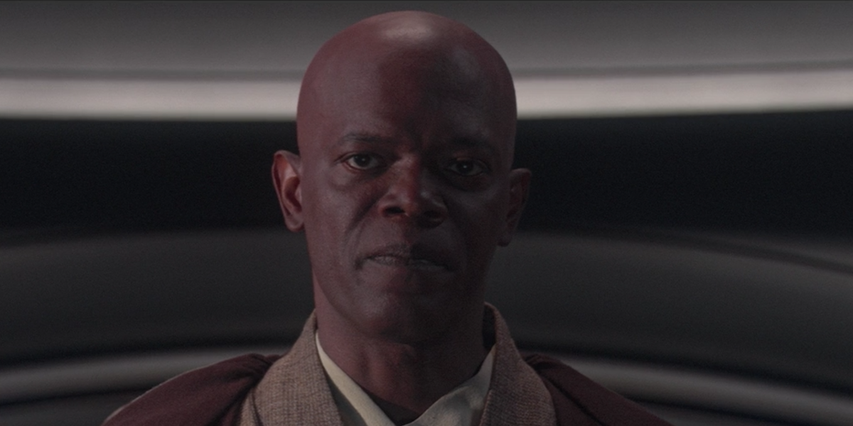 Sam Jackson as Mace Windu in Revenge of the Sith
