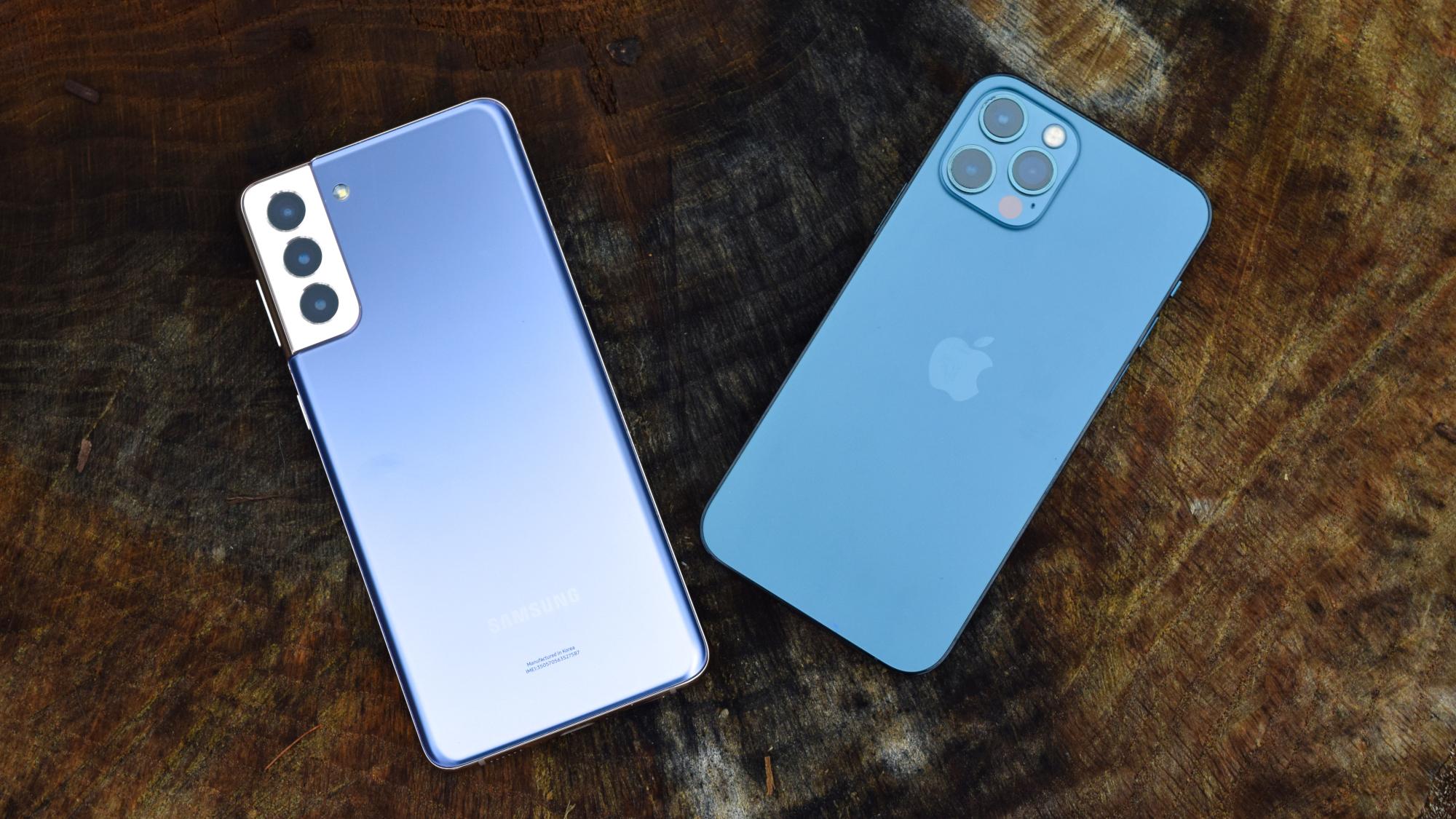 Переход на ios: galaxy s21 plus против iphone 12 pro