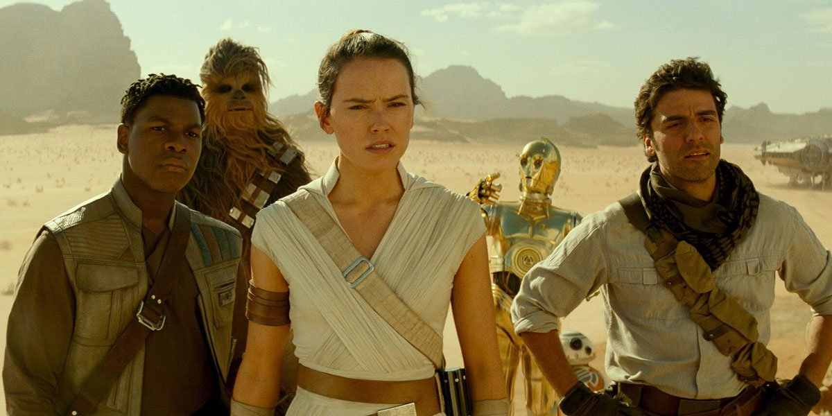 This Is What Finn Wanted To Tell Rey In Star Wars: Rise Of Skywalker, Apparently - CINEMABLEND